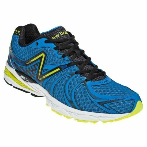 NEW BALANCE MENS RUNNING SHOES STYLE M870BB2 870v2 blueE NEON YELLOW NIB SIZE 13