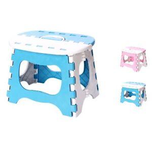 Portable Plastic Kitchen Foldable Step Stool Kids Toilet