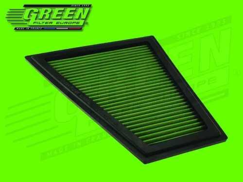 X1 GREEN Sportluftfilter für BMW 5er Luftfilter E84 F07-F18 E89 /& Z4