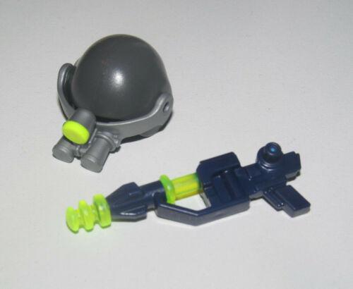 Casque Playmobil Lot Accessoires Agent de l/'Espace Super Gun Fusil Laser