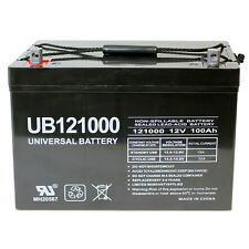 UPG 12V 100Ah SLA AGM Battery for Goal Zero Yeti 1250 Solar Generator