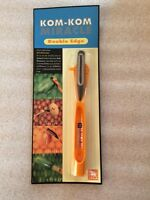 Kom Kom Miracle Double Edge Peeler, Carver, And Corer - Thailand