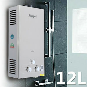 Details About 12l 3 2gpm Propane Lpg Gas Tankless Water Heater Instant Hot Boiler Shower