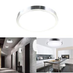 Details zu Deckenlampe 15W LED Deckenleuchte Küche Badezimmer Beleuchtung  Leuchte IP44 Flur