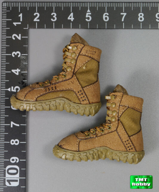 1:6 Scale Soldier Story US ARMY PILOT AIRCREW SS087 - Rocky S2V Military Boots