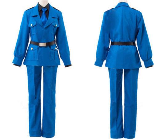APH Axis Powers Hetalia North Italy Uniform Cosplay Cos