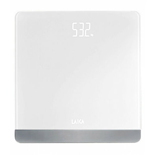PS1057 Bilancia Pesapersone Digitale Laica Pesa Persone Max180 Kg Bianco