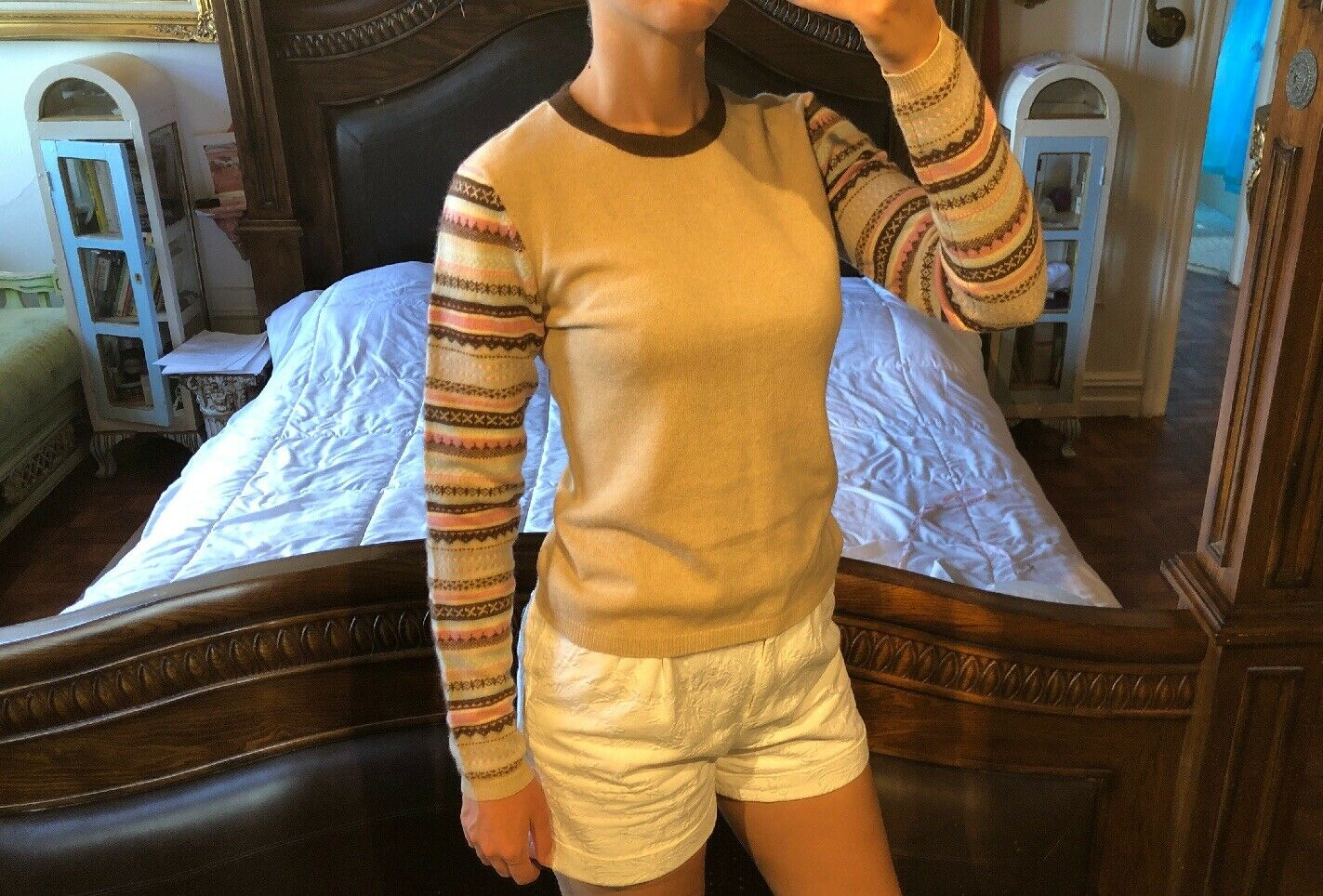 Bergdorf braman Cashmere tröja