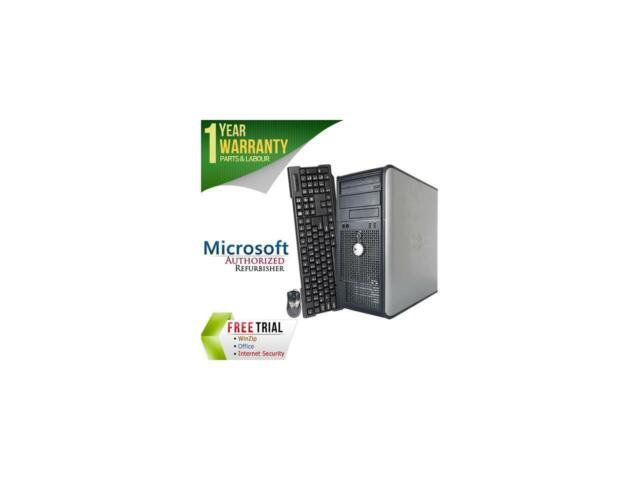 Dell Optiplex 755 Tower Desktop PC With Intel Core 2 Duo E6550 Processor  4gb Memory 1tb Hard Drive and Windows 10 Home (monitor Not Included) -