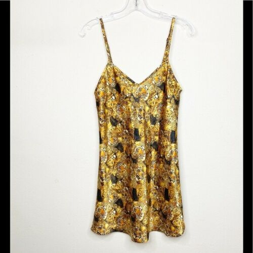 Shirley of Hollywood Lion Tiger Lingerie Nightgown