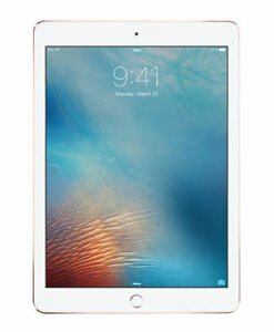 Apple-iPad-Pro-1st-Gen-32GB-Wi-Fi-amp-Cellular-9-7in-Rose-Gold-Works-Perfect-READ
