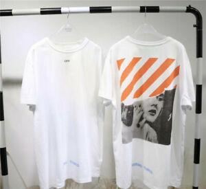 d0a93968 Au Stock Off White tee shirt Street Wear tee top unisex | eBay
