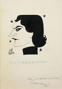 Jan Mara (1912-1992)julien Bertheau Acteur,metteur En Scène Théatre Cinema Actor La RéPutation D'Abord