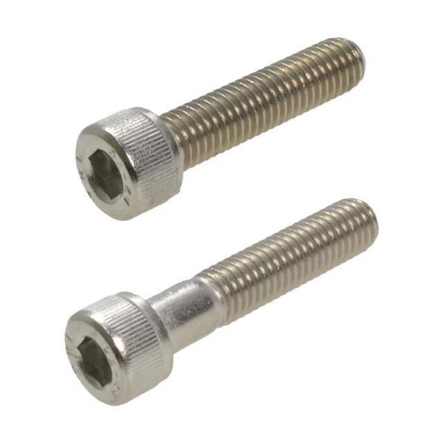 G304 Stainless Steel M4 (4mm) Metric Coarse Socket Head Cap Screw Allen Bolt