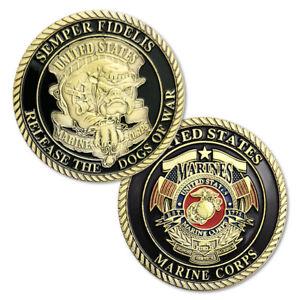 United States Marine Corps Devil Dog Military Commemorative