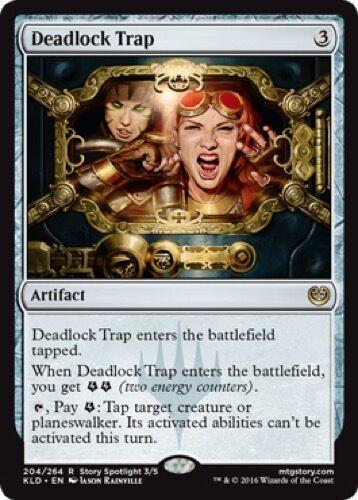 Deadlock Trap - Kaladesh Rare 204//264