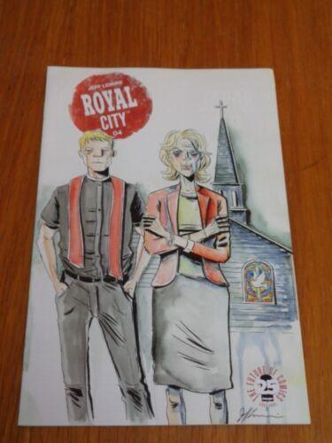 ROYAL CITY #4 IMAGE COMICS JUNE 2017 VF 8.0