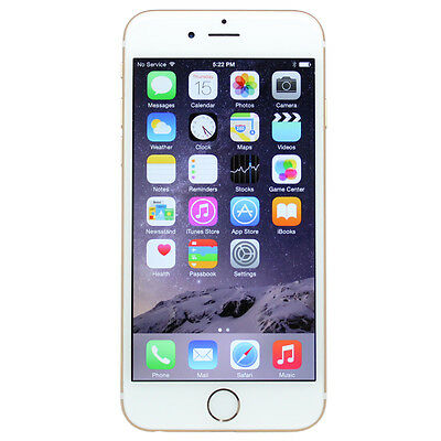 Apple iPhone 6 + Plus A1522 16GB Silver GSM 4G LTE (Factory Unlocked) Smartphone