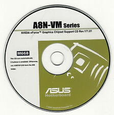 ASUS A8N-VM or A8N-VM CSM Motherboard Drivers Installation Disk M668