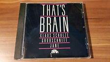 Various Artists-Thats´ Brain (Grobschnitt,Jane,K. Schulze) (Brain–843 072-2)