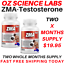 From-14-95-ZMA-Zinc-Magnesium-Vit-B6-Testosterone-Booster-AUST-MADE thumbnail 2