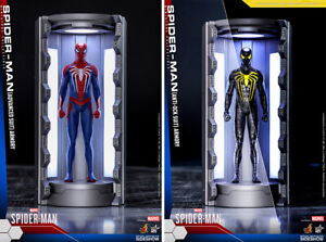 ORIGINAL-MOSC-SET-OF-2-HOT-TOYS-VGM-COMPACT-SERIES-MARVEL-039-S-SPIDER-MAN