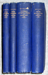 4-Books-1872-1897-FUR-SEALS-ON-NORTH-PACIFIC-OCEAN-RUSSIA-JAPAN-ALASKA-Pribilof