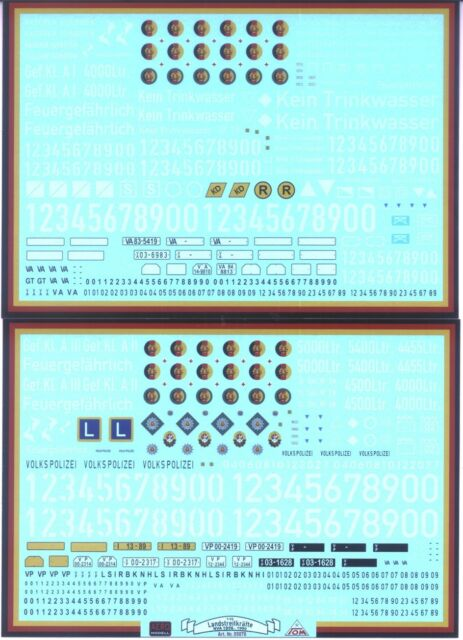 Nva Land Forces and Arm. Institutions, 1:3 5 Decals / Decal, New, 2 Curve