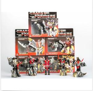NEW TRANSFORMERS G1 Reissue Dinobots set Grimlock//Swoop//Slag//Snarl//Sludge MISB
