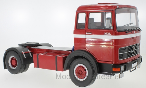 MERCEDES Benz Camion LPS 1632 rosso ROSSO Truck Camion strada re enorme disponibile 1 18