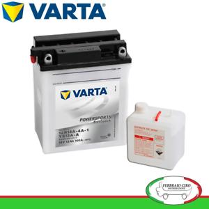 Batterie Avviamento Varta Moto KAWASAKI M GPZ GPZ 550 84/>89 12V 12Ah 512011012