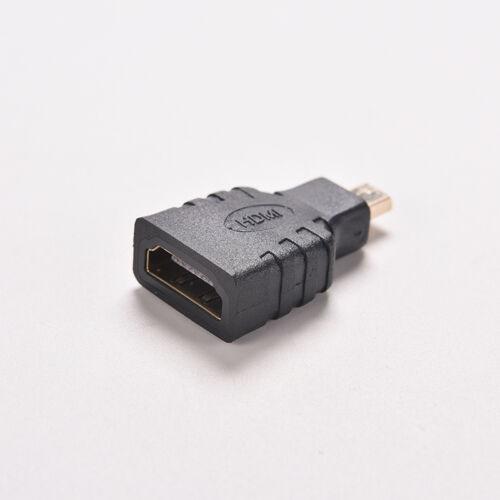 Micro hdmi Typ D Stecker auf hdmi Typ A Buchse Adapter Stecker für HDTV ML