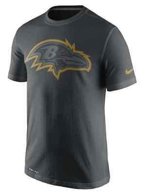 Analitico Baltimore Ravens Nike Dri-fit Allenamento Corsa T-shirt-mostra Il Titolo Originale