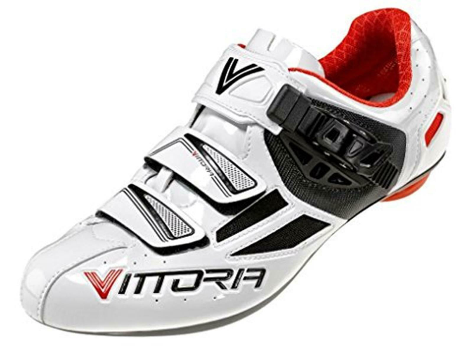 Vittoria Speed High-Quality Road Bike Cycling shoes White US 5 NEW