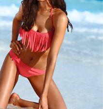 NEU -Bandeau Bikini (2-tlg. Set) 40 koralle Cup A + B(36657-2)-54483