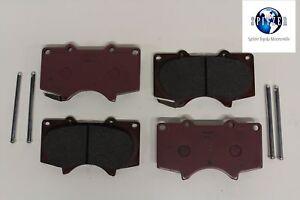 For 2003 2004 2005-2009 4Runner FJ Cruiser Front Rear Brake Rotor Ceramic Pad