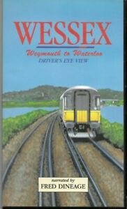WESSEX-Driver-039-s-Eye-View-WEYMOUTH-to-WATERLOO-VHS-PAL-Fred-Dineage