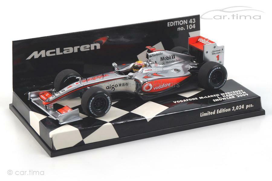 Vodafone McLaren Mercedes-SC 2009-Hamilton-Minichamps 1 43 - 530094371