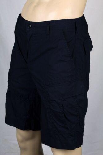 Polo Ralph Lauren Navy Blue Cargo Cotton Shorts 31 NWT