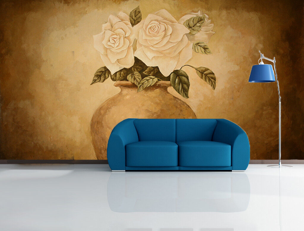 3D Pottery Jar pinks 46 Wall Paper Wall Print Decal Wall Deco Indoor Mural Carly