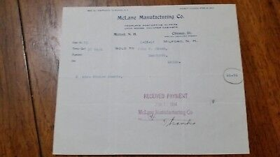 1893 San Francisco California Billhead Arnett /& Rivers Vulcanized Rubber Goods