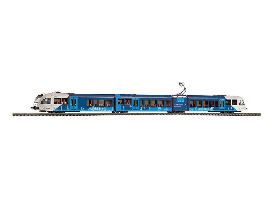 PIKO 59030 AC DIGITAL Elektrotriebwag. GTW 2 8  Stadler  Vechtdallijn der Arriva