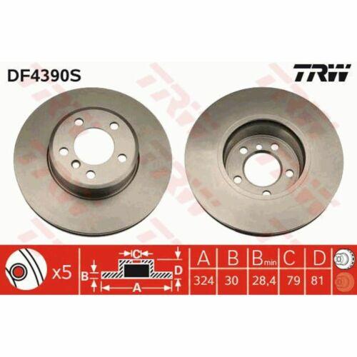 1 Stück TRW DF4390S Bremsscheibe