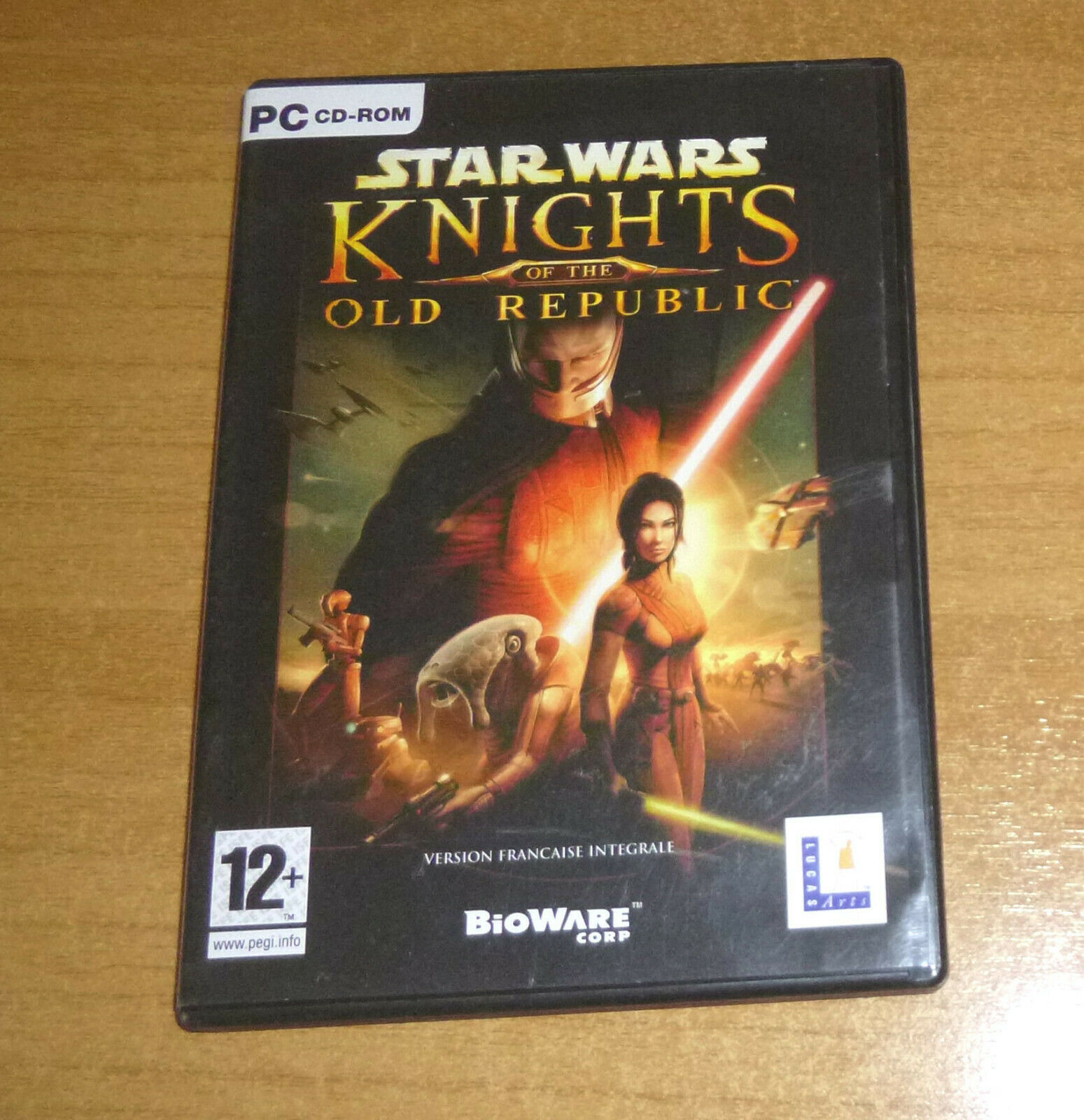 Jeu PC - Star wars knights of the old - jeu StarWars