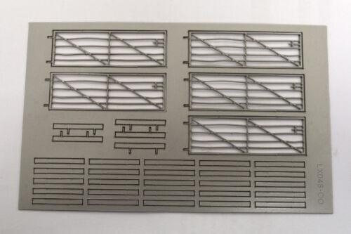 5 x LASER CUT METAL LOOK FARM GATES FOR OO SCALE LX048-OO 1:76 MODEL RAILWAY