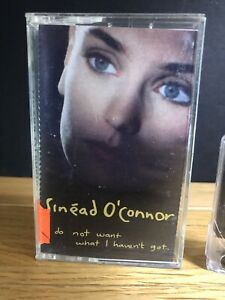 Sinead-O-039-Connor-I-Do-not-want-what-I-Haven-039-t-got-Cassette-Tape
