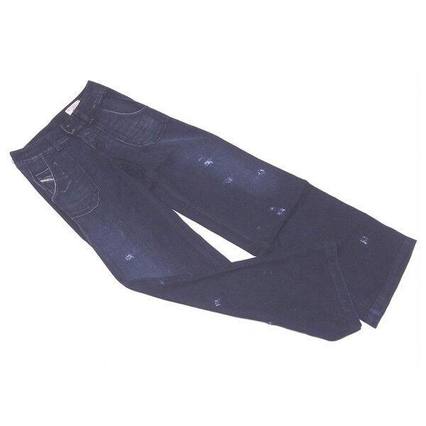 Diesel Jeans denim Navy Woman Authentic Used C2994