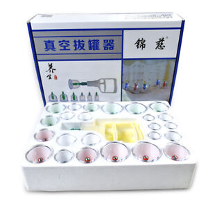 NEW-CUPPING-SET-24-CUPS-Slimming-Vacuum-Therapy-Massage-Acupuncture