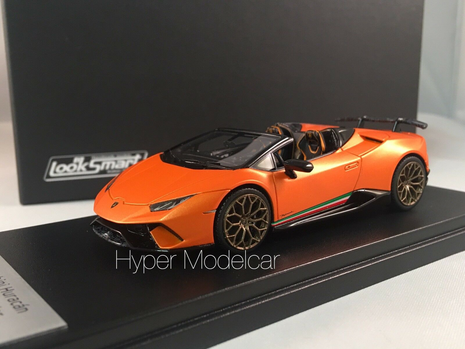 LOOKSMART 1/43 Lamborghini Huracan LP640-4 Performante Spider 2017 - LS481B