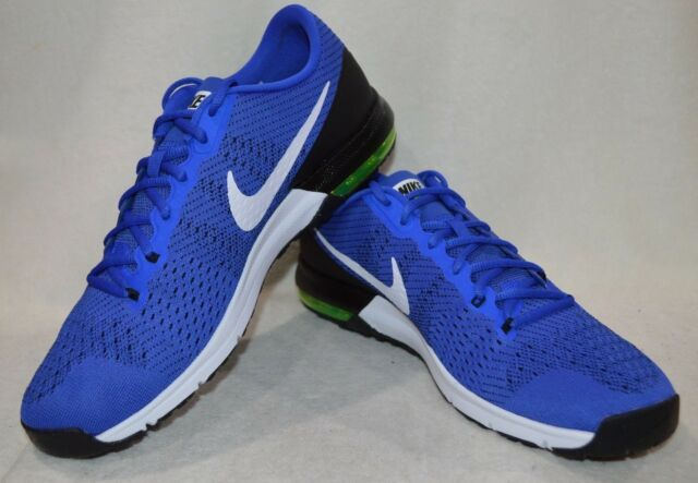 a39bce73e8 Nike Air Max Typha Blue/White/Volt Men's Training Shoes - Assorted Sizes NWB